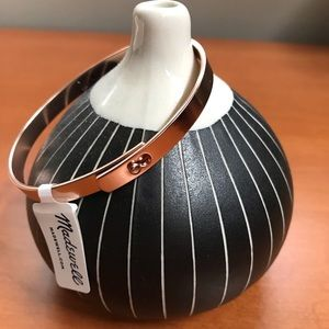 Madewell Rose gold glider bracelet ❤️ NWT